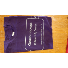 Gemini Pickups Purple T Shirt